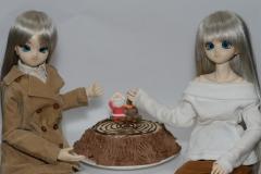 クリスマスケーキ焼きました
